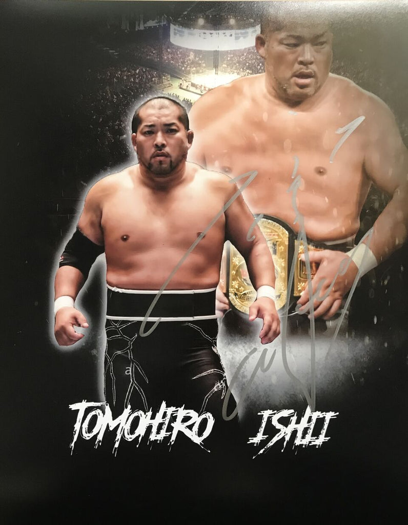 New Orleans Wrestlecon Signed Tomohiro Ishi 8x10 print