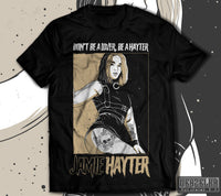 Official Jamie Hayter Wrestler T-shirt
