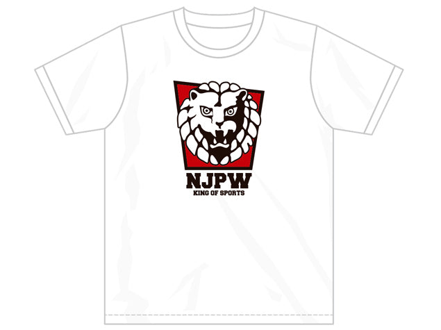 Brand New Lionmark T-shirt from New Japan pro wrestling. Show your support for Japan's biggest wrestling company by picking up one now. King of Sports T-shirt