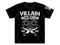 Support Marty Scurll by grabbing his new Villain Club Tee. Based off of New Japan's Bullet Club classic logo, this Villain club tee is a limited edition in Silver!