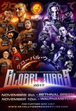 Global Wars 2017 Poster