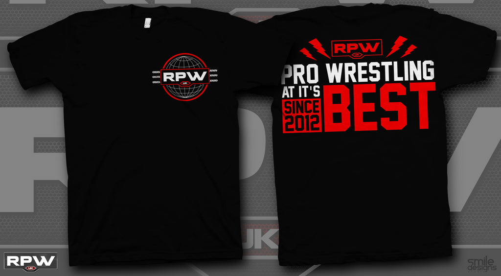 Black RPW Pro Wrestling At Its Best T-shirt