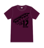 Maroon RevPro Athletic T-shirt - Revolution Pro Wrestling T-shirt