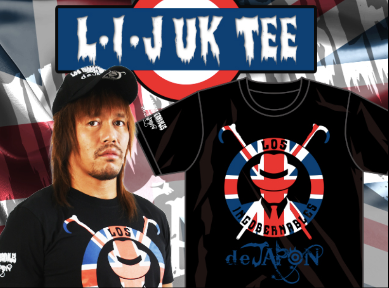 LIJ Union Jack Royal Quest T-shirt