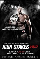 Official Shibata High Stakes 2017 Poster