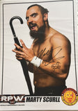 Signed Marty Scurll A4 Print