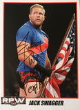 Signed A4 Print of former WWE Superstar Jack Swagger