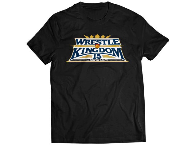 Official Event T-shirt for Wrestle Kingdom 15