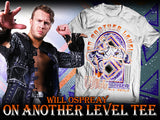Will Ospreay On Another Level Tee NJPW/ New Japan Pro Wrestling IWGP NEVER