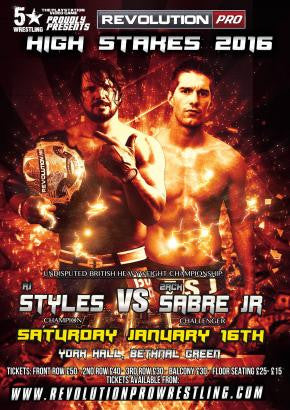 Signed Poster of The Phenomenal One AJ Styles and The Technical Wizard Zack Sabre Jr