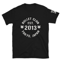 Bullet ClubEst 2013 BC4lyf NJPW T-shirt Official UK NJPW T-shirt Stockist