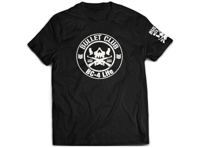 BC Bullet Club Circle T-shirt back NJPW New Japan Pro Wrestling
