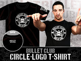 Switchblade Jay White BC Bullet Club Circle T-shirt back NJPW New Japan Pro Wrestling