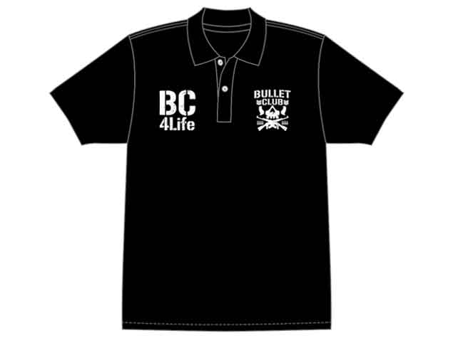 BC Bullet Club polo shirt, be a part of Bullet Club 4 Life. NJPW New Japan Pro Wrestling
