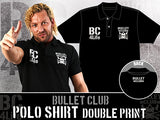 Kenny Omega in BC Bullet Club polo shirt, be a part of Bullet Club 4 Life. NJPW New Japan Pro Wrestling