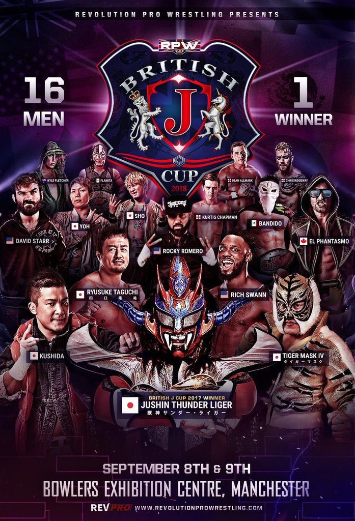 Official British J Cup 2018 Poster
