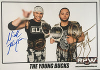 Signed Young Bucks A4 Print