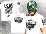 Bushi in his latest  Los Ingobernables de Japon T-shirt.