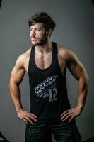 Danny Duggan in Black RevPro Athletic Muscle vest