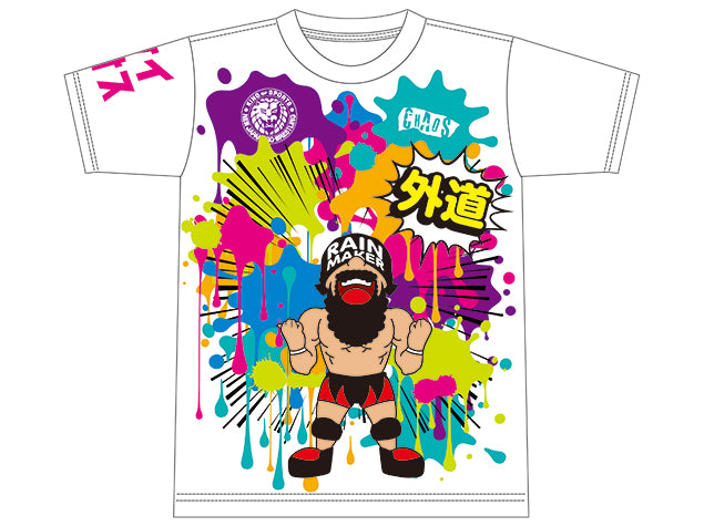 Show your support for the former 4x IWGP Junior Heavyweight Tag Team Champion, Gedo, by grabbing his brand new Everyone is Colourful Tee.