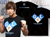 Golden Lovers Black T-shirt