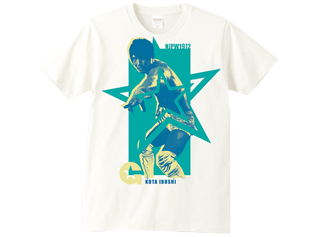 Kota Ibushi NJPW 1972 Picture T-shirt Official UK NJPW T-shirt Stockist