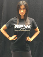 WWE NXT UK Jinny in RPW RevPro Revolution Pro Wreslting Logo T-shirt