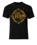 The Legion faction T-shirt includes The Haskins, Sha Samuels, The Great-O-Khan, Rampage Brown & Gideon Grey
