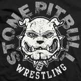 Show your support for CHAOS member the 4x NEVER Openweight Champion, the Stone Pitbull, Tomohiro Ishii with this Official New Japan Pro Wrestling Black T-shirt