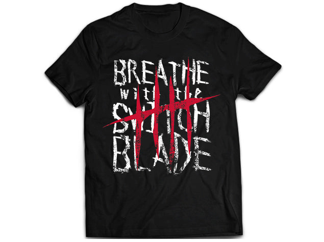 NJPW Jay White Breathe with Switchblade T-shirt
