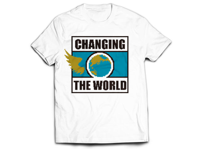 Kenny Omega, The Cleaner, Best Bout Machine, Golden Lover, Being The Elite, 'Changing The World' T-shirt NJPW New Japan Pro Wrestling, ROH, AEW