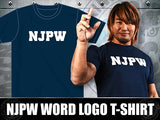 Tanahashi in NJPW New Japan Pro Wrestling Navy T-shirt
