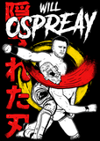 Official Will Ospreay 'Hidden Blade' T-shirt