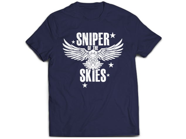 NJPW Robbie Eagles Sniper in Skies T-shirt