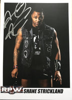 Signed A4 print of Shane Strickland