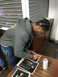 Shane Strickland personally signing A4 Prints
