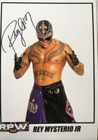 Signed Rey Mysterio A4 Print