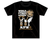WORLD TAG LEAGUE 2020 & BEST OF THE SUPER Jr.27 Tournament Commemorative T-shirt