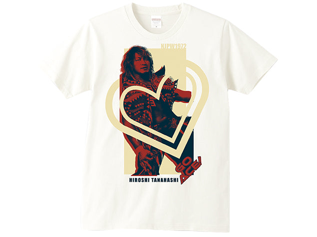 Hiroshi Tanahashi NJPW 1972 Picture T-shirt Official UK NJPW T-shirt Stockist