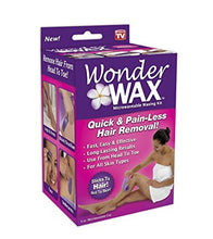 Wonder Wax for hair removal