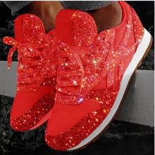 Women Bling - Vulcanized Shoes 2020 New Casual Flat Ladies Sneakers