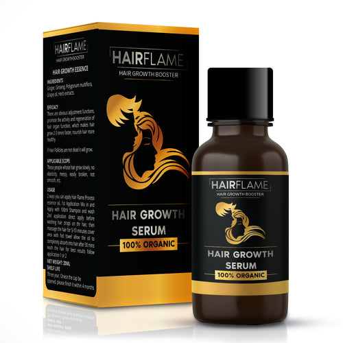 HairFlame - Hair Growth Serum Intensive formula for hair regrowth (50 ml)