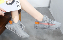 Chaussures - Outdoor Lightweight Sneaker Breathable Flat Platform Shoes for Women