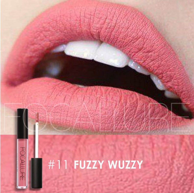 Waterproof Lipstick, moisturizing and Smooth Long Lasting matt lipstick FOCALLURE #11