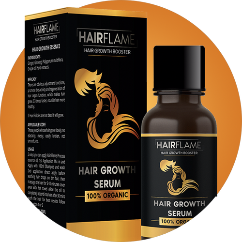 HairFlame - Hair Growth Serum Intensive formula for hair regrowth (birthday offer)