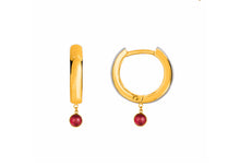 Keket Clicker Huggie Hoop Earrings