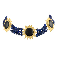 Persian Sun Statement Choker Necklace