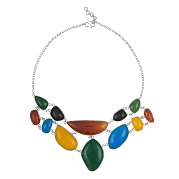 Diversity Rocks Statement Necklace