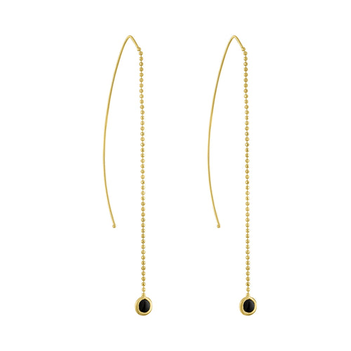 Shoulder Duster Threader Earrings