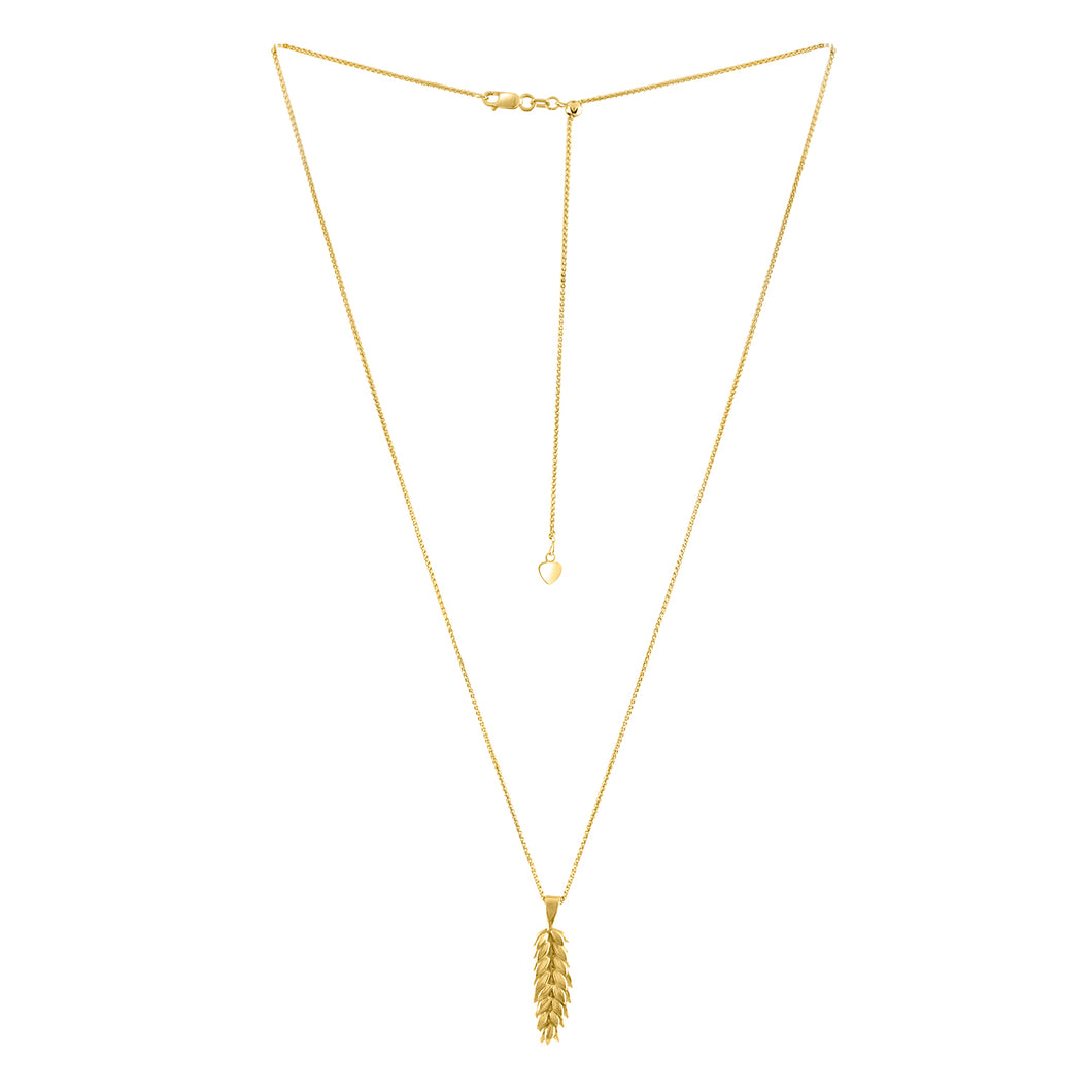 Wheat Sheaf Pendant Necklace